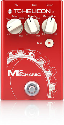 VoiceTone Mic Mechanic 2 Reverb, Delay, & Pitch Correction Pedal