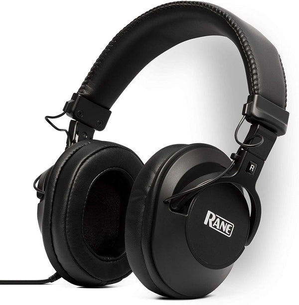 "Rane RH-50 High-Fidelity Over-Ear Headphones 1/4"" Adapter Included"