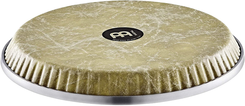 "Meinl Percussion Head by REMO for Select Meinl Congas with SSR Rims-Made in USA-11 3/4"" Fiberskyn Natural (RHEAD-1134NT)"