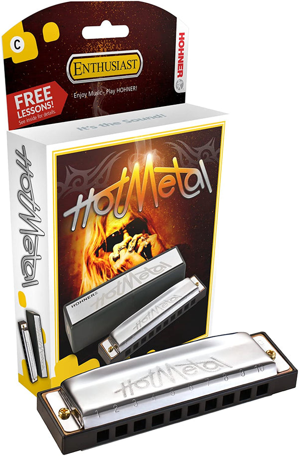 Hohner Hot Metal Standard Line Diatonic Harmonica - Key of D