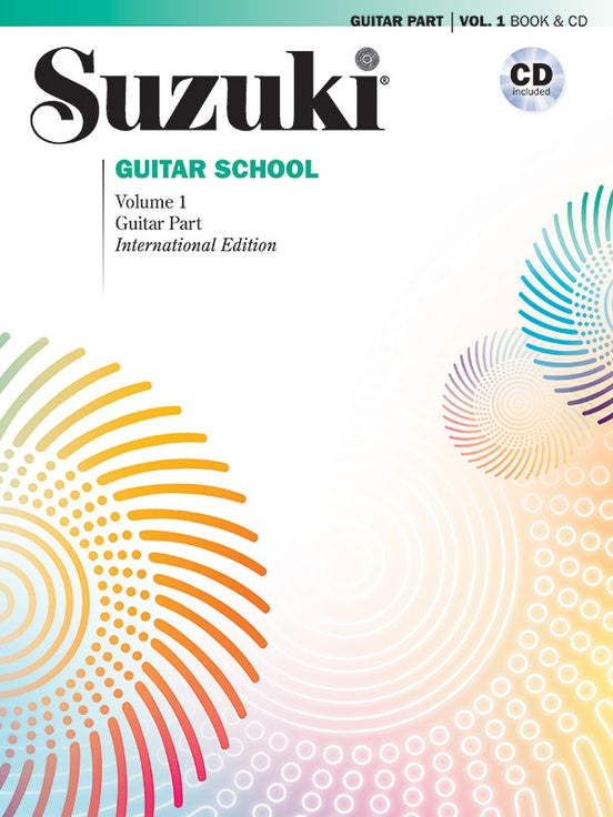 Suzuki Guitar School Guitar Part & CD, Volume 1