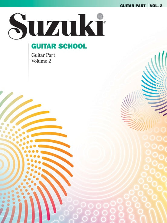 Suzuki Guitar School Guitar Part, Volume 2