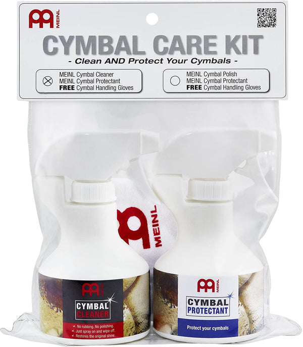 Meinl Cymbals Cymbal Care Kit for Brilliant Finishes - Includes Cleaner and Protectant (MCCK-MCCL)