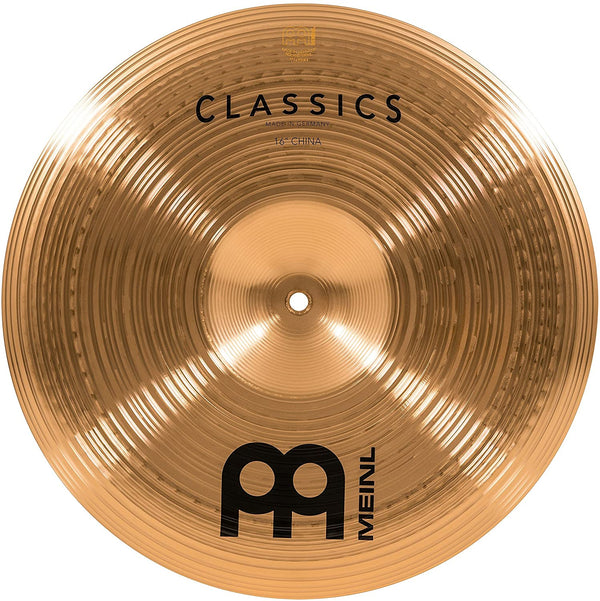 "Meinl 16"" China Cymbal - Classics Traditional - Made in Germany"