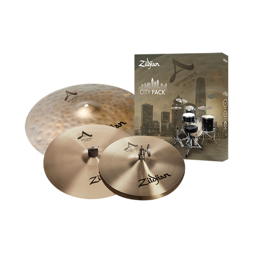Zildjian City Pack 4-Cymbal Set