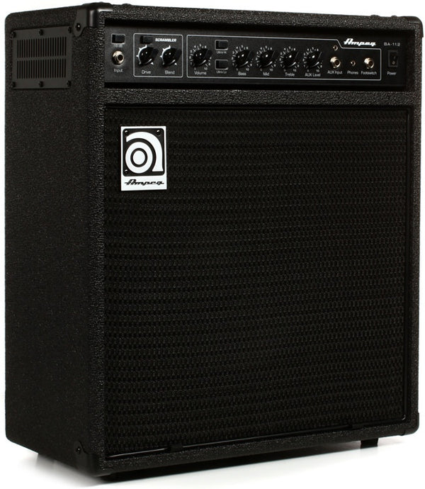 "Ampeg BA-112v2 1x12"" 75-Watt Bass Combo with Scrambler"