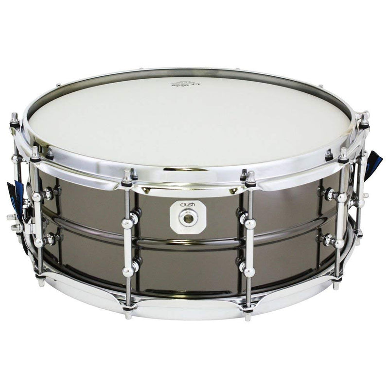 "Beaded Metal 14x5.5"" Snare Drum, Steel Nickle"