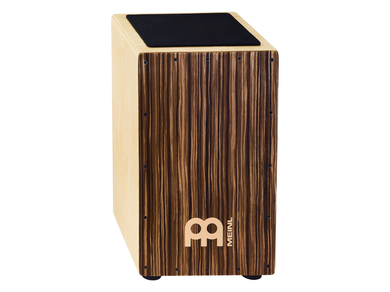 Traditional String Cajon, Striped Umber Frontplate