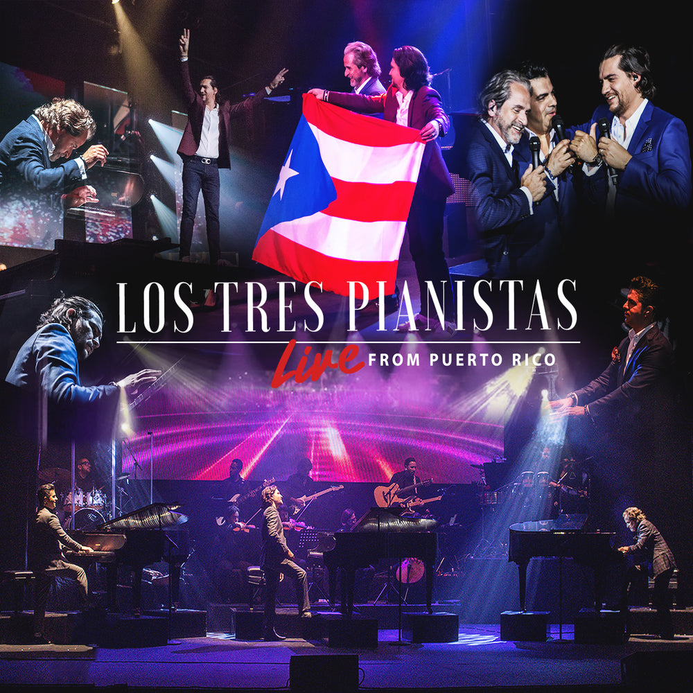 Los Tres Pianistas - Live From Puerto Rico ( AUDIO CD)