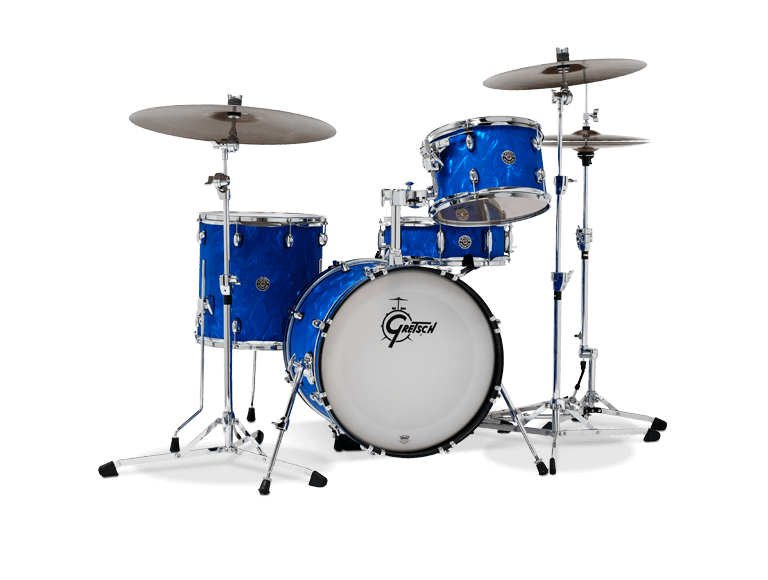 Gretsch Catalina Club Jazz 14x18 Kick - Blue Satin Flame