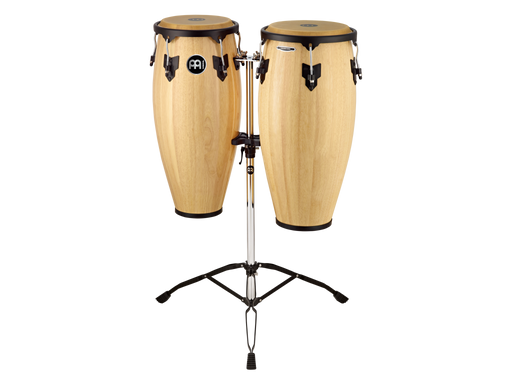 "Meinl Conga Set MC82 11"" & 12"" w/ Tripod Stand - Natural"