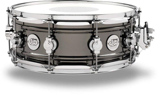 DW Design Series Black Nickel over Brass Snare Drum 14x5.5-Inches