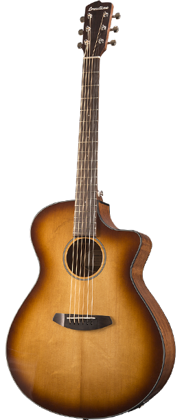 Breedlove Discovery Concerto 6-String Acoustic-Electric Guitar - Fishman T Pickup - Sunburst
