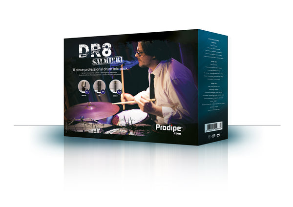 DR8 Drum Microphone Set