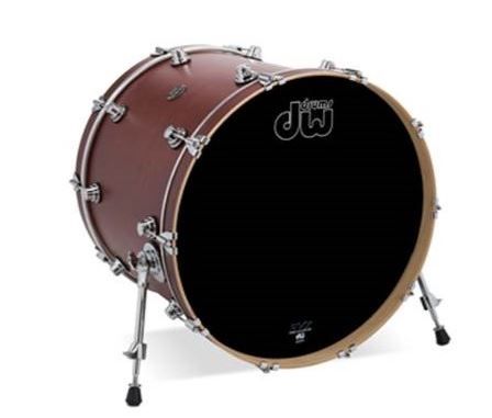 "DW DRPS1822KKTB 18"" X 22"" Performance Series Bass Drum In Tobacco Stain"