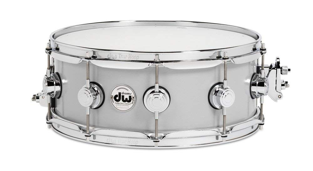 "Collector's Series 5.5"" x 14"" Rolled Aluminum Snare Drum with Chrome Hardware"