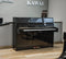 Kawai Upright Piano K-15 Polished Ebony