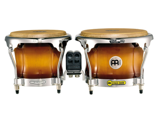 "Profesional Series Bongo, 7"" & 8 1/2"" Gold Amber Sunburst Finish"
