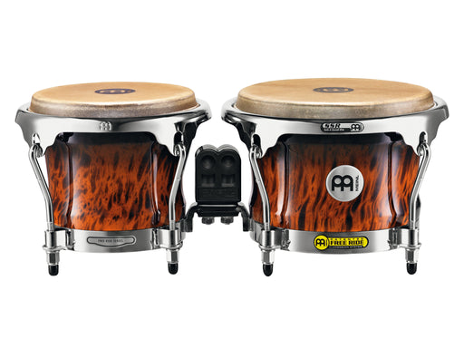 "Profesional Series Bongo, 7"" & 8 1/2"" Brown Burl Finish"
