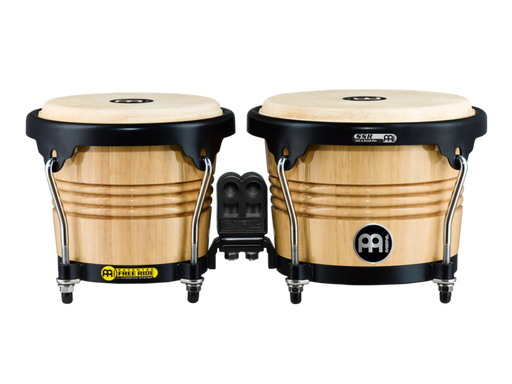 "Free Ride Series Wood Bongos, Natural Finish 6 3/4"" & 8"""