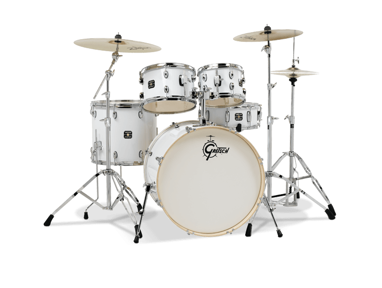 Gretsch Drums Energy 5-Piece Drum Set with Hardware - White