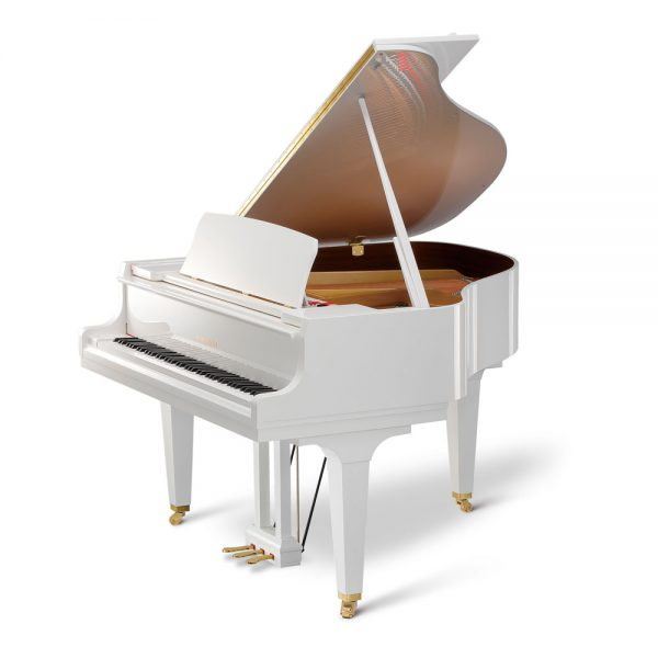 Kawai GL-10 Baby Grand Piano Polished Snow White
