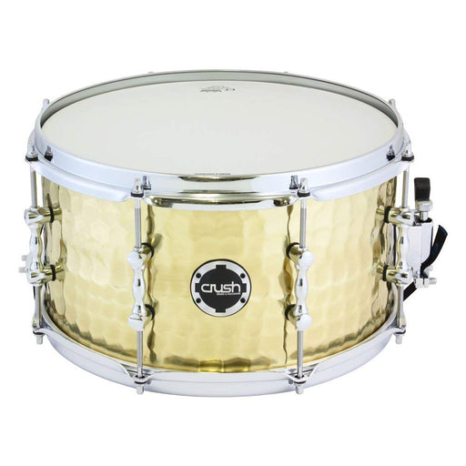 Crush Drums & Percussion HHS13X7B 13-Inch Snare Drum, Brass