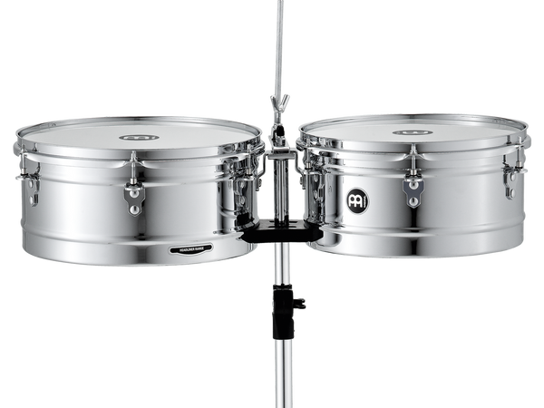 "Headliner Series Timbales, Chrome 13"" & 14"""