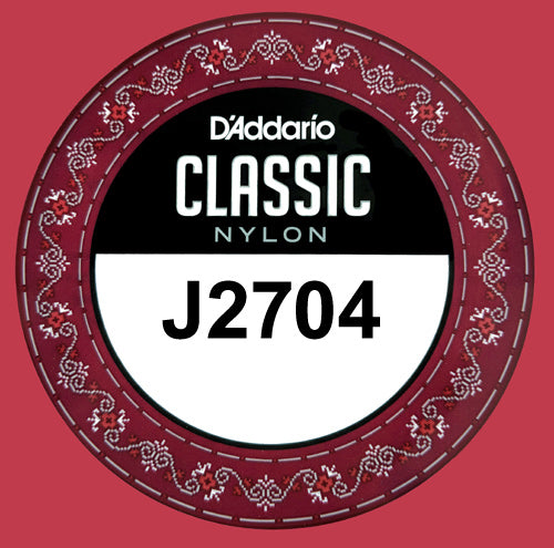 D'Addario J2704 Classic Nylon Normal Tension, 4th single D .029