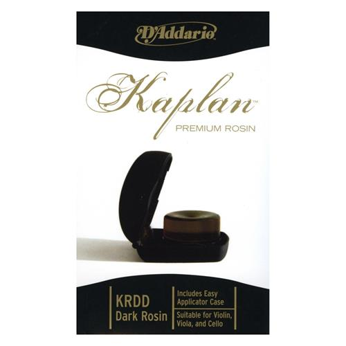 D'Addario Kaplan Premium Rosin Dark With Case
