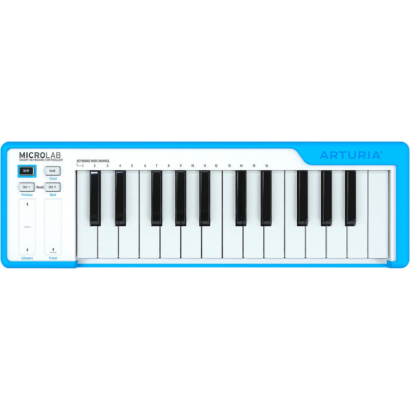 Arturia MicroLab Smart Keyboard Controller Blue 25 Key