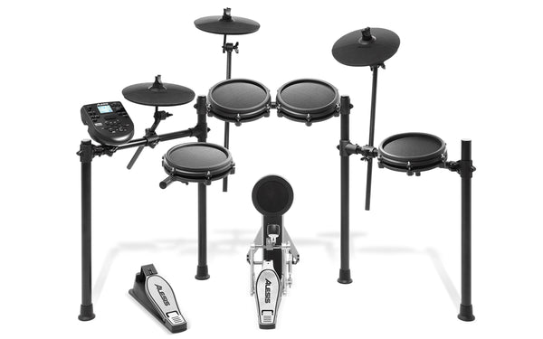 PRE VENTA Alesis Nitro Mesh Kit Eight-Piece Electronic Drum Kit with Mesh Heads