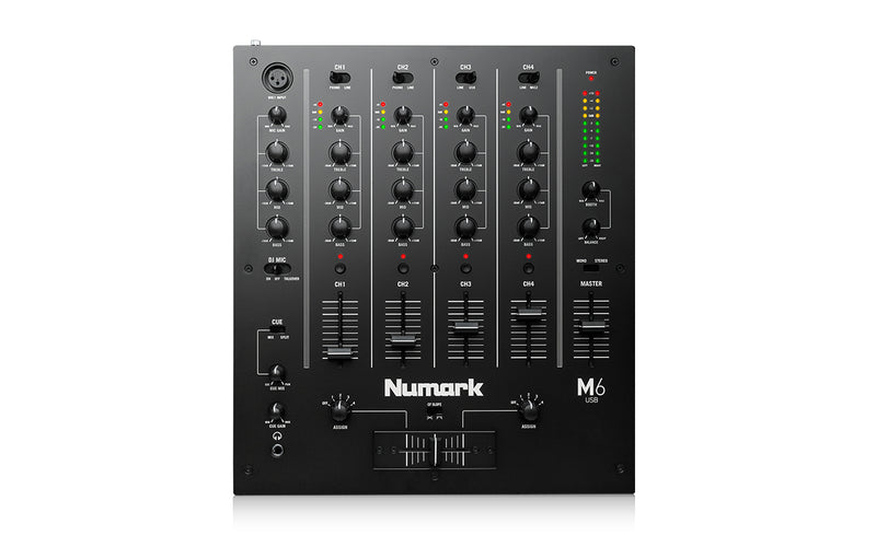 M6 USB 4-Channel USB DJ Mixer