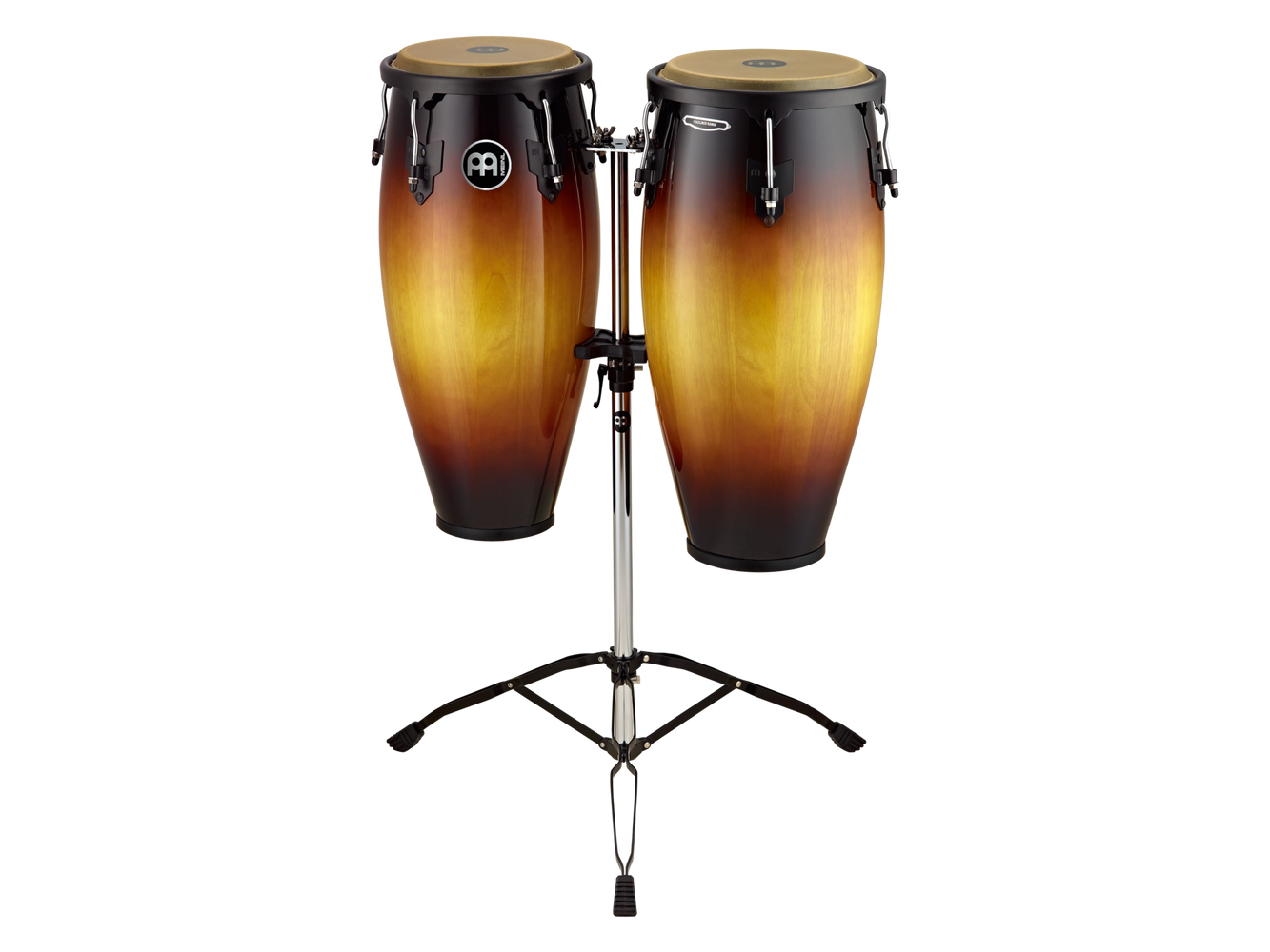"Meinl Conga Set MC82 11"" & 12"" WITH Tripod Stand  Vintage Sun Burst"