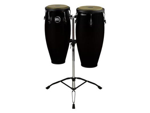 "Meinl Conga Set MC82 11"" & 12"" With Tripod Stand - Black"