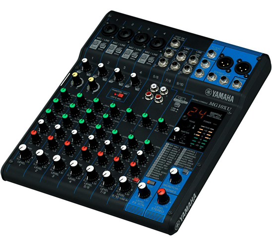 MG10XU Analog Mixer W/ Effect