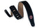 "Levy's 2.5"" Wide Suede Guitar Strap Black"