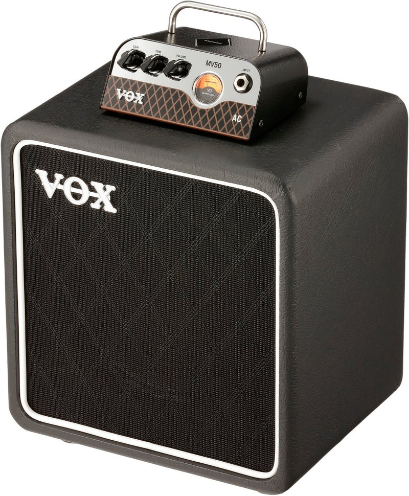 "Vox MV50 AC Set 50-watt Hybrid Tube Head with 1x8"" Cabinet"