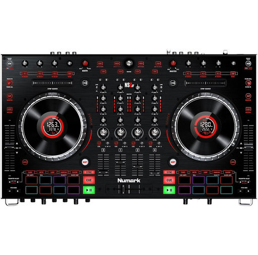 NS6II Premium 4-Channel Serato DJ Controller with Dual USB and HD Color Displays