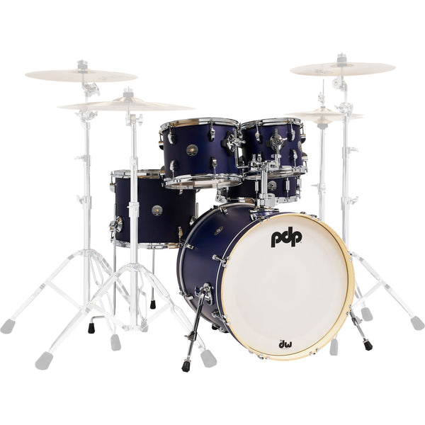 PDP by DW Spectrum Series 5-Piece Shell Pack with 22 in. Bass Drum Ultraviolet