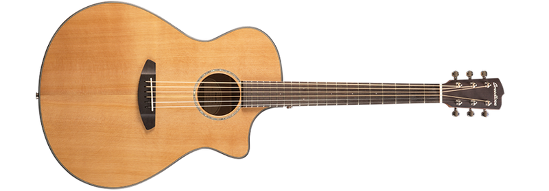 Breedlove Pursuit Concerto CE 6-String Acoustic-Electric Guitar, Fishman USB Pickup - Natural