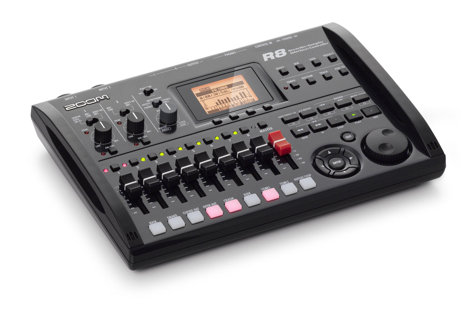 R8 Recorder : Interface : Controller : Sampler