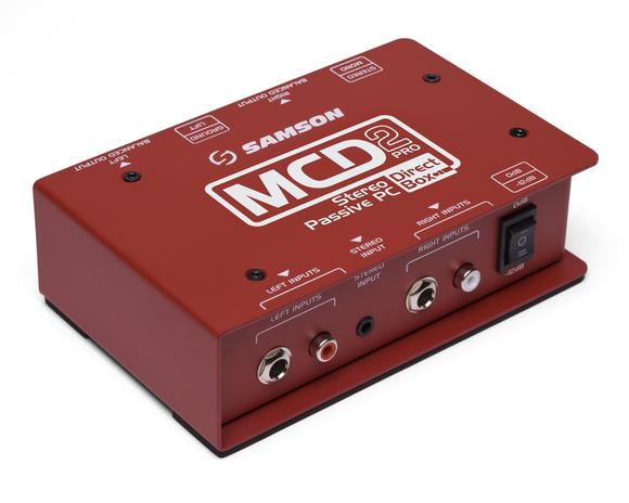MCD2 Pro Stereo Passive PC Direct Box