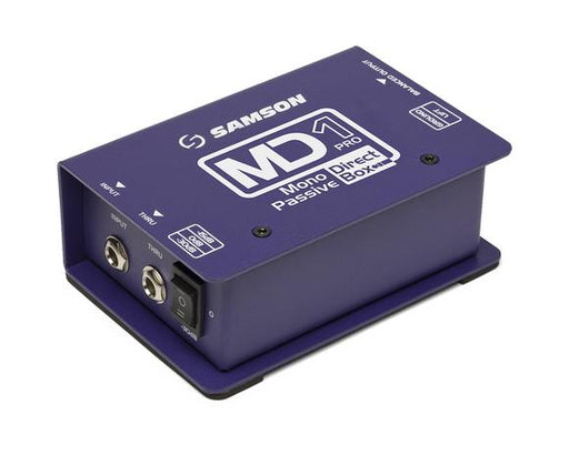 MD1 Pro Mono Passive Direct Box