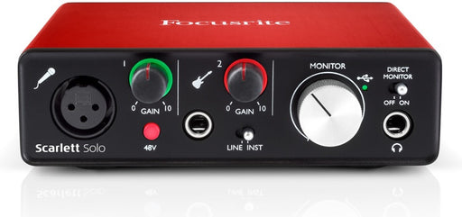 Scarlett Solo USB Interface