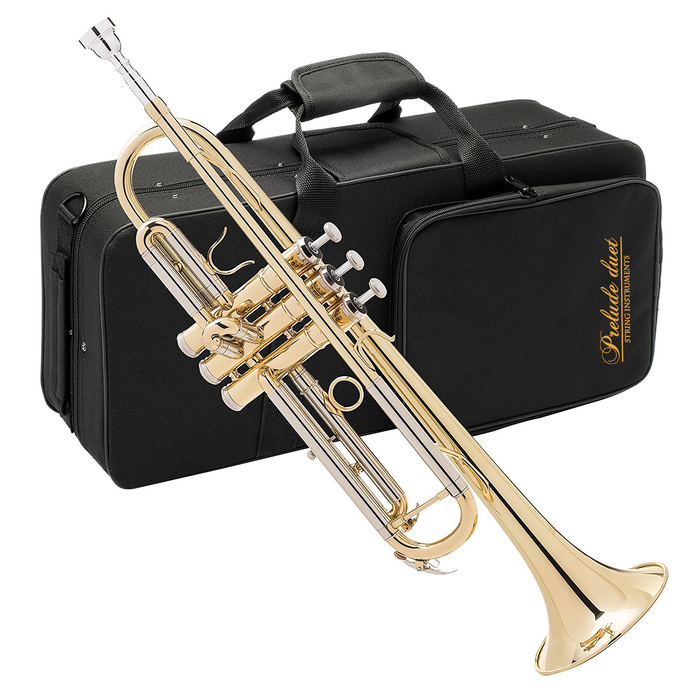 Prelude Duet Student Trumpet Lacquer