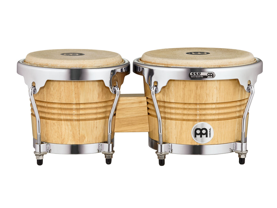 "Marathon Exclusive Series Bongo, 6 3/4"" & 8"" Chrome Plated Hardware"