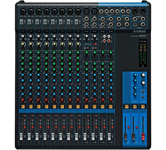 MG16 Analog Mixer