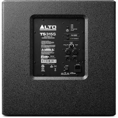 "Alto Professional Truesonic 3 TS315S 15"" Powered Subwoofer, 2000W Peak Power"