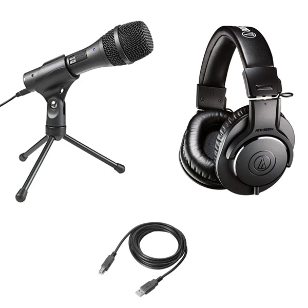 Audio-Technica AT2005USB Streaming/Podcasting Pack